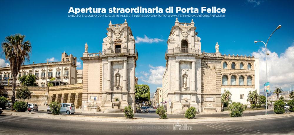 3 giugno: Apertura straordinaria Porta Felice. Ingresso gratuito ...